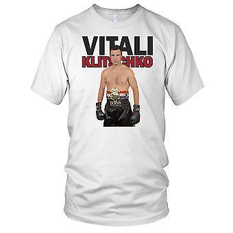 Vitali Klitschko Boxing Legend Ladies T Shirt