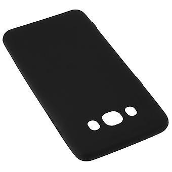 TPU bløde sagen, matte tilbage cover til Samsung Galaxy J7 2016 - sort