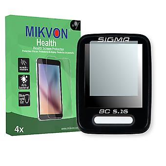Sigma BC 5.16 Screen Protector - Mikvon Health (Retail Package with accessories)