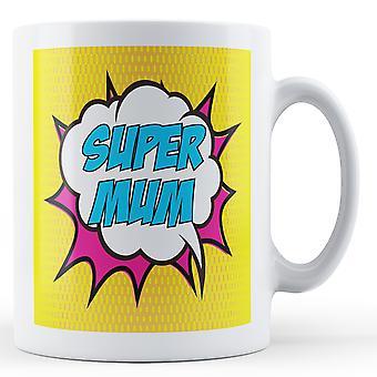 Taza Super mamá Pop Art - taza impresa