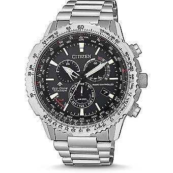 Citizen Men's Watch CB5010-81E Chronographs, Radio Watches