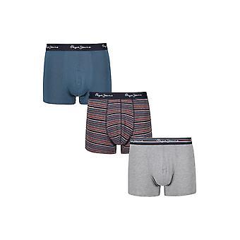 New Designer Mens Pepe Jeans Short Boxer Trunk Shorts Alf