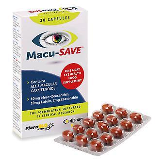 Macu-opslaan Eye Supplement met Meso-zeaxanthine 30 capsules