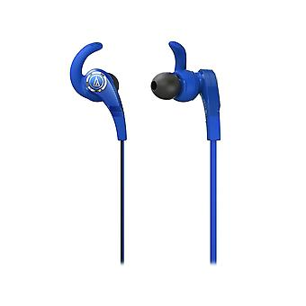 Audio-Technica ATH-CKX7 Blue Sonic Fuel In Ear Headphones