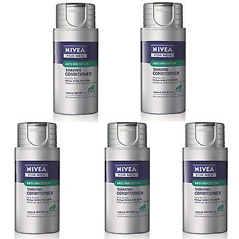 Philips HS800/04 Nivea For Men feuchtigkeitsspendende Anti-Irritation rasieren Balsam Conditioner - 5 Packungen