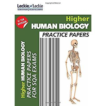CfE Higher Human Biology Practice Papers for SQA Exams by Leckie & Le