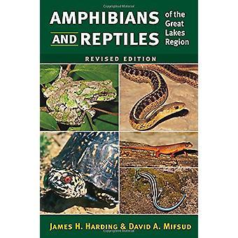 両生類と爬虫類ジェームス h. ハーディング、五大湖地域の