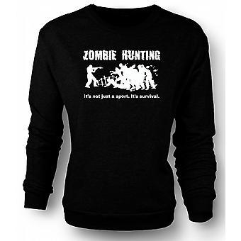 Kids Sweatshirt Zombie jacht Sport - komedie, Horror