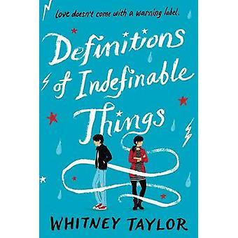 Définitions de choses indéfinissables par Whitney Taylor - 9780544805040 B