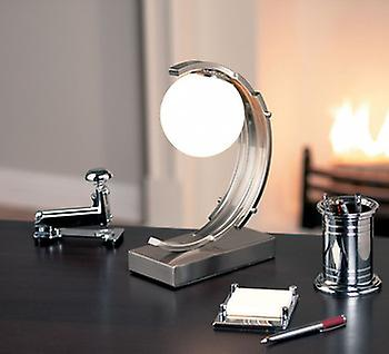Endon 589-TL Touch Lamp In Satin Chrome