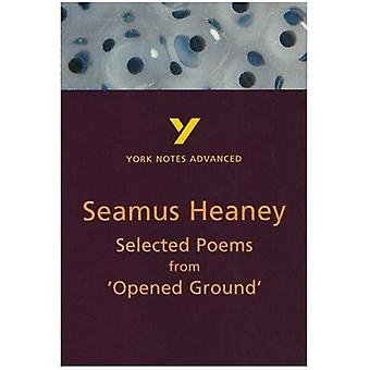 Selected Poems from  Opened Ground  by Seamus Heaney (York Notes Advanced)