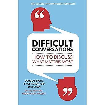 Svåra samtal: Hur att diskutera vad som är viktigast