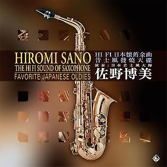 Hiromi Sano - Hi-Fi Klang des Saxophons: Lieblings-japanische Oldies [Vinyl] USA importieren