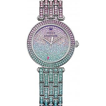 Juicy Couture 1901246 Ladies' Luxe Couture Crystal Set Watch