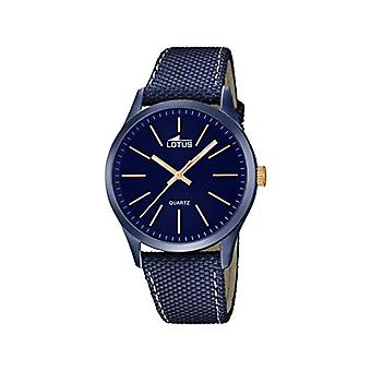 Lotus style Casual men's quartz watch from a variety of materials 18166/2