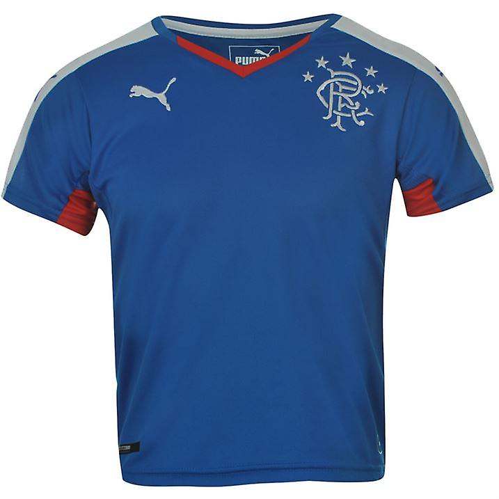 2015-2016 Rangers Puma Home Football Shirt (Kids)