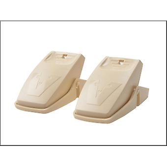 QUICK SET MOUSE TRAPS (TWIN PACK)