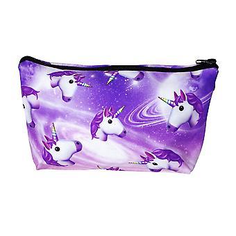 Unicorn bag multicolor, printed, 100% polyester.