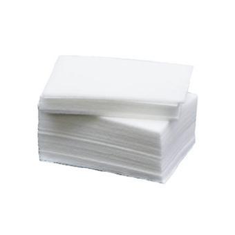 100pcs lint-free cushions, nagelservetter, nail pads