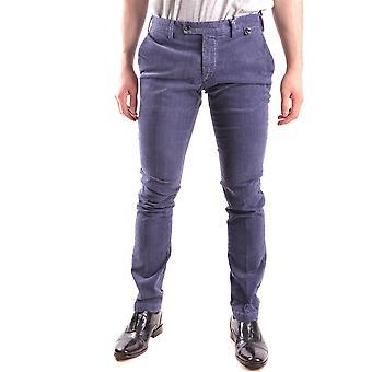 At.p.co Blue Cotton Pants