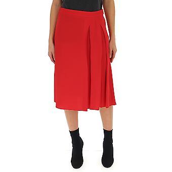 Marni Red Cotton Skirt