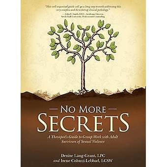 No More Secrets A Therapists Guide to Group Work with Adult Survivors of Sexual Violence by Grant LPC & Irene Lebbad LCSW & Denise