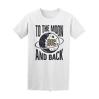 To The Moon And Back Planet Tee Men's -Image by Shutterstock
