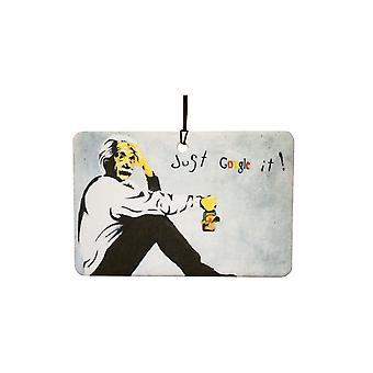 Ambientador de aire de Banksy sólo Google It
