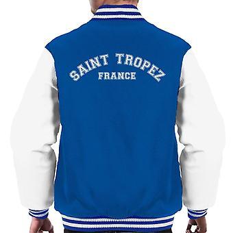 Saint Varsity Jacket Tropez College testo maschile