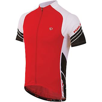 Pearl Izumi True Red-White Elite Short Sleeved Cycling Jersey
