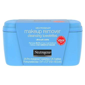 Neutrogena make-up remover cleansing towelettes, 25 ea