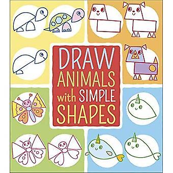 Rita djur med enkla former