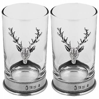 Stag Double Hiball Spirit Glass - Stag103