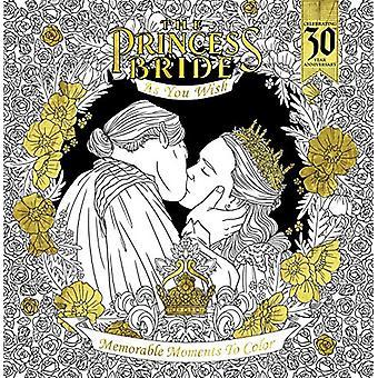 The Princess Bride As You Wish Memorable Quotes To Color by Rachel Cu