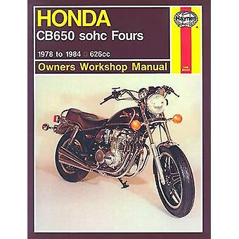 Honda CB650 Fours Owner's Workshop Manual (2nd Revised edition) by Ma