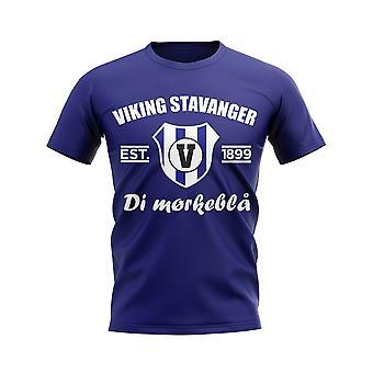 Viking Stavanger Established Football T-Shirt (Navy)