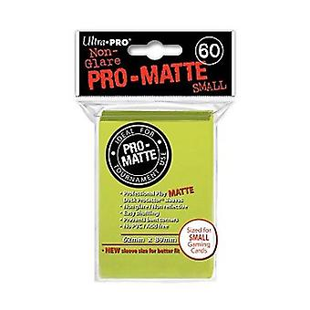 Ultra Pro Matte Card Sleeves - Bright Yellow