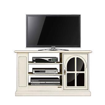 Tv door with window and shelving