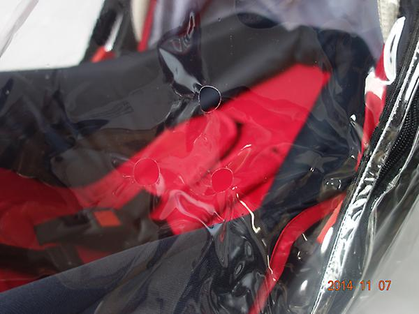 Universal Carrycot Rain Cover - Clear