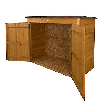 Forest Garden Dip Treated Large Wooden Outdoor Store