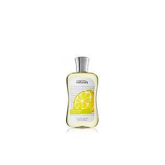 Bath & Body Works Signature Naturals Fresh Lemon Shower Gel 10 fl oz / 295 ml