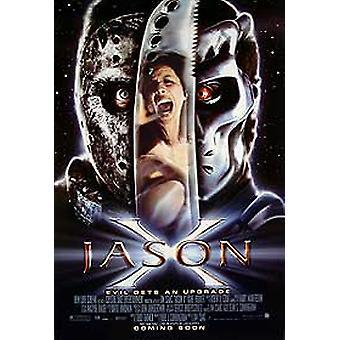 Jason X (Advance) alkuperäinen elokuva juliste