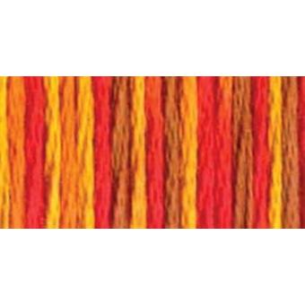 Dmc Color Variations Six Strand Embroidery Floss 8.7 Yards Fall Harvest 417F 4122