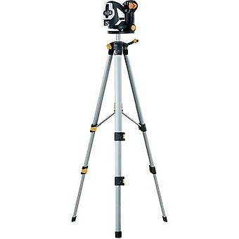Cross line laser Self-levelling, Incl. tripod Laserliner SuperCross-Laser 2P RX Set 150 Max. range: 20 m Calibrated to: