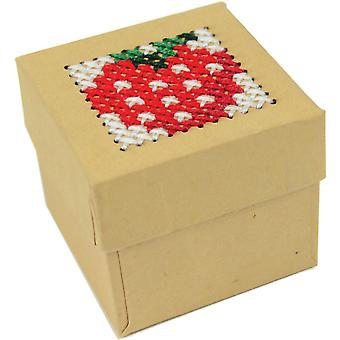 Mini Trinket Boxes Punched For Cross Stitch-1.75