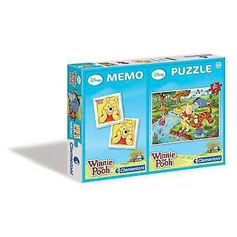 Clementoni 60 Puzzle Pieces With Memo Winnie (Toys , Boardgames , Puzzles)