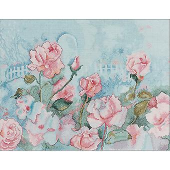 Rose Romance Counted Cross Stitch Kit-14