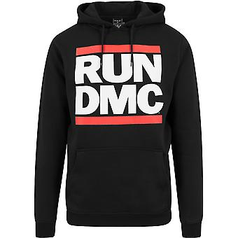 Mister Tee X ARTISTS - Run DMC Logo Hoody schwarz