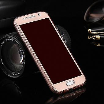Crystal Case Hülle für Sony Xperia Z5 Compact Pink Rahmen Full Body