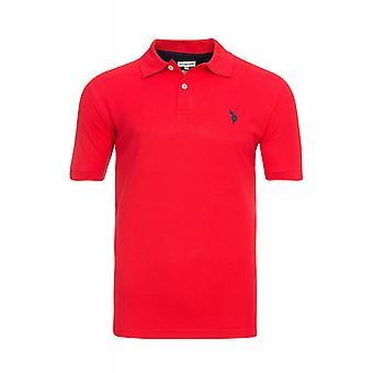 U.S. POLO ASSN. Shirt men's Polo Shirt red 51887 155